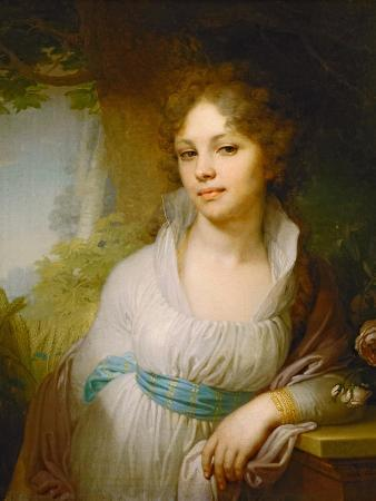 Portrait of Maria Lopukhina, 1797