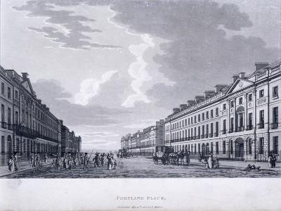 Portland Place, Marylebone, London, 1800