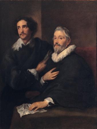 Portrait of the Brothers De Wael, C. 1620-1630