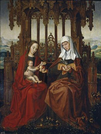 The Virgin and Child with Saint Anne, Ca 1528