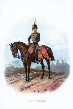 10th Hussars, 1889