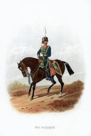 3rd Hussars, 1889