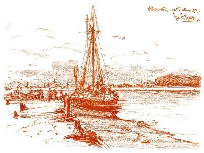 A Sketch at Walberswick, 1899
