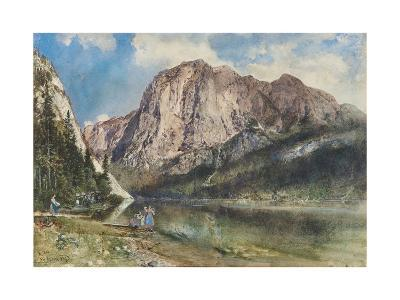 Altaussee Lake and Face of Mount Trissel, 1859