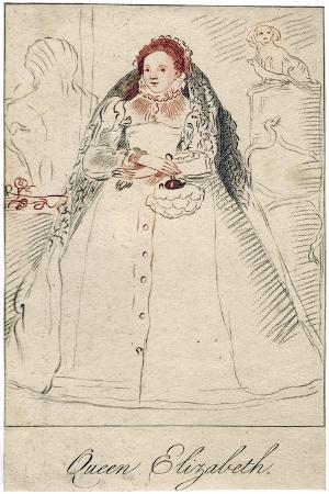 Queen Elizabeth I of England, (1533-160)
