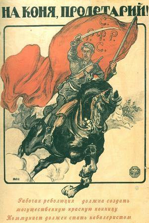 To Horse, Proletarian!, 1918