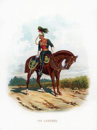 5th Lancers, 1889