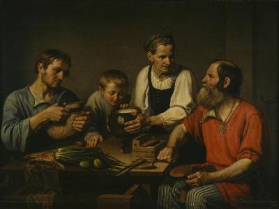 Peasant Family before Dinner, 1824