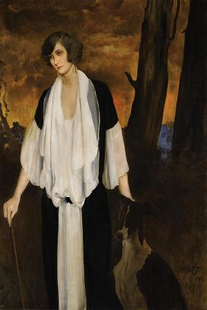 Portrait of Rachel Strong, the Future Countess Henri De Boisgelin, 1924