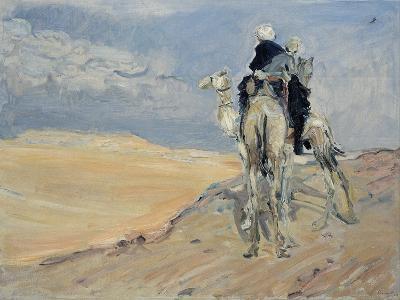 Sandstorm in the Libyan Desert, 1914