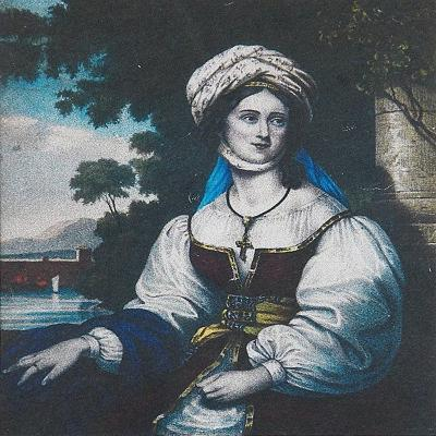 Portrait of Laskarina Bouboulina, 1830