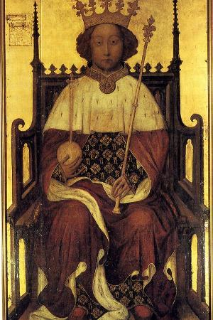 Portrait Richard II of England, Ca 1390