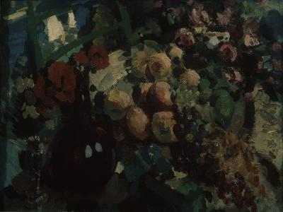 Still Life. Vine and Fruits, 1917