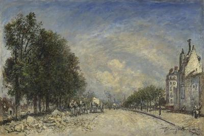 The Boulevard De Port-Royal, Paris, 1877