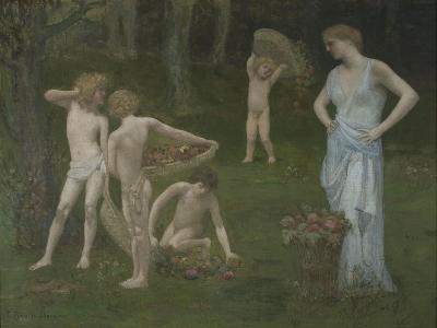 Children in an Orchard, C. 1886-1888