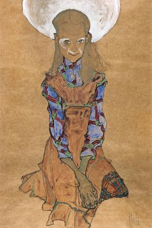 Seated Girl (Poldi Lodzinsk), C. 1910