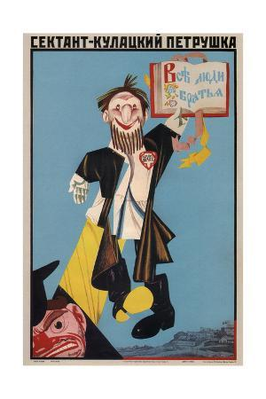 Sect Member Is the Kulak's Puppet, 1930