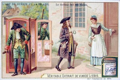 The Doctor Makes His Visits, C1900
