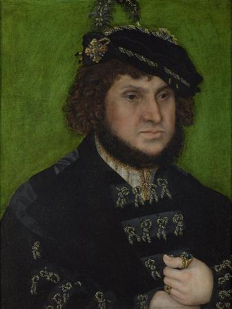 Portrait of John of Saxony (1468-153), 1509