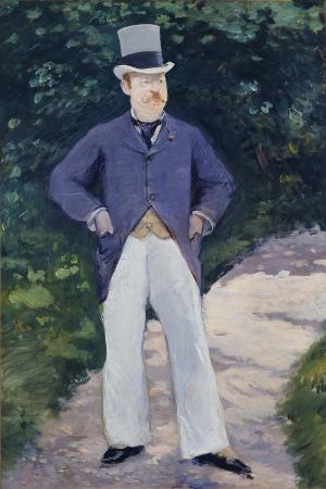 Portrait of Monsieur Brun, 1879