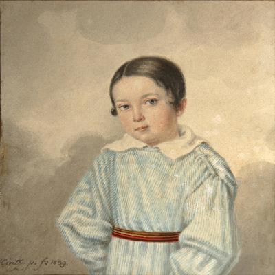Portrait of N.M. Schwarz, 1839