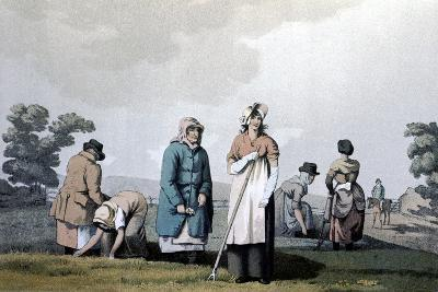 Lowkers - Women Who Weeded Corn, 1814