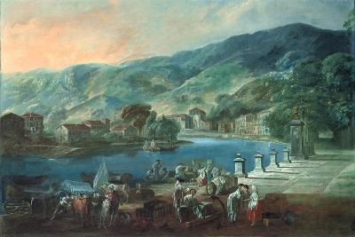 View of El Arenal in Bilbao, Ca 1784