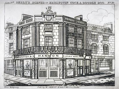 Alfred's Head Inn, Corner of Newington Causeway and London Road, Southwark, London, C1830