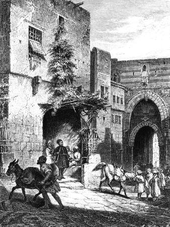 Carry Mamelukes, in the Citadel of Cairo, 1880