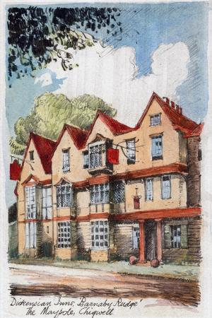 Dickensian Inns, Barnaby Rudge, the Maypole, Chigwell, C1800-1850