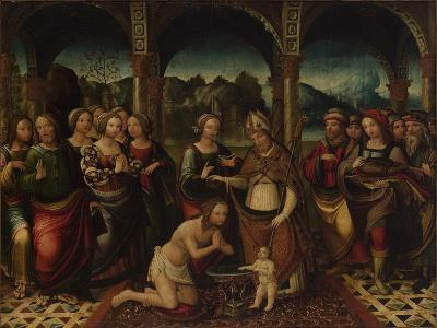 Baptismal Ceremony, End of 16th C
