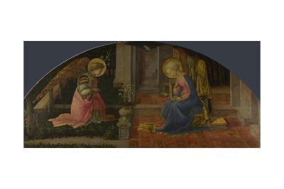 The Annunciation (Medici Pane), C. 1450