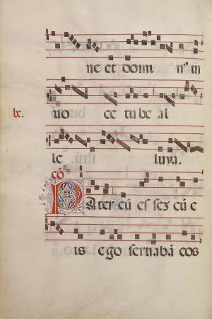 The Gradual. Initial P, C. 1500
