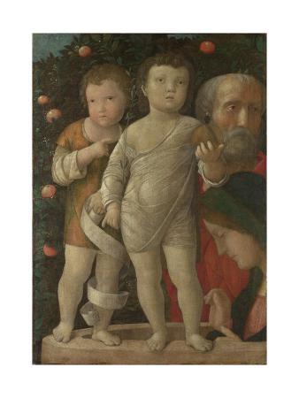 The Holy Family with Saint John, C. 1500