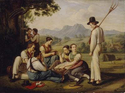 Mowers Resting, 1819