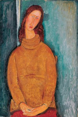 Portrait of Jeanne Hébuterne, 1919