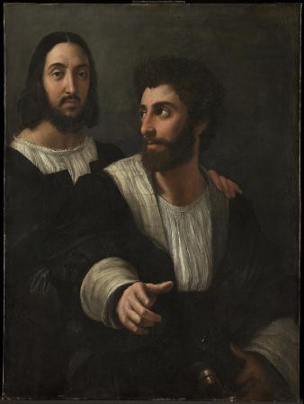 Self-Portrait with a Friend (Double Portrai), 1519