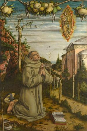 The Vision of the Blessed Gabriele, 1489