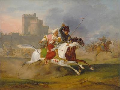 Turk and Cossack, 1809
