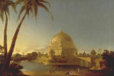 The Tomb of Sher Shah Suri in Sasaram, Bihar, C. 1790