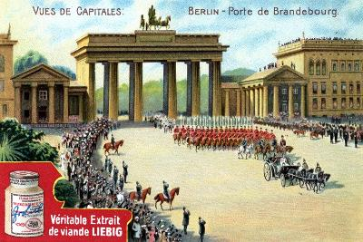 Views of Capitals: Brandenburg Gate, Berlin, C1900