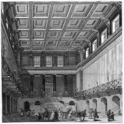 The Great Hall, Euston Square Satation, 1849
