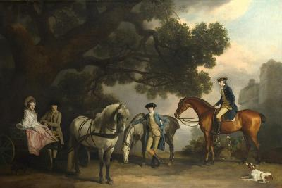 The Milbanke and Melbourne Families, Ca 1769