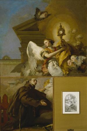 The Vision of Saint Paschal Baylon, 1767-1769