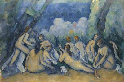Bathers (Les Grandes Baigneuse), 1894-1905
