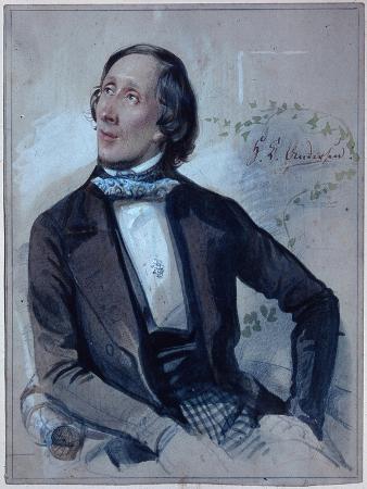 Hans Christian Andersen, 1845