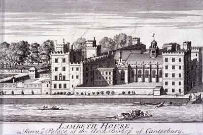 Lambeth Palace, London, C1720