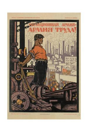 Militia Army - Army of Workers!, 1920