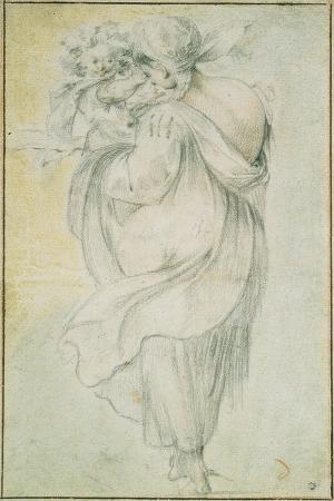 Gypsy with a Child, Early 17th C