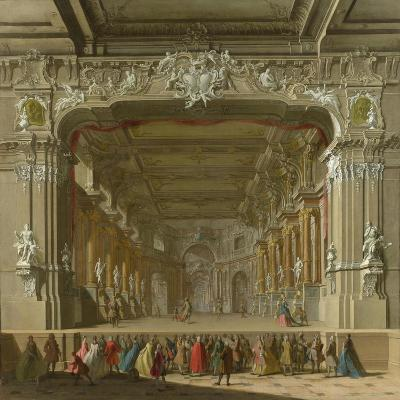 The Interior of a Theatre, Early 18th C